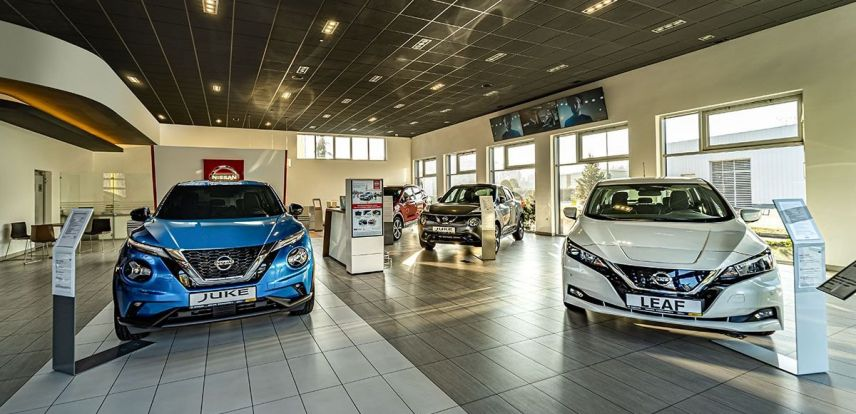 Salon Nissan Dąbrowscy